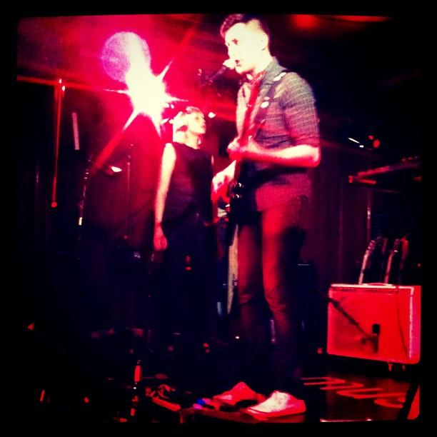 Live at Roter Salon Berlin 2012 (photo: Laura Świtkowska)