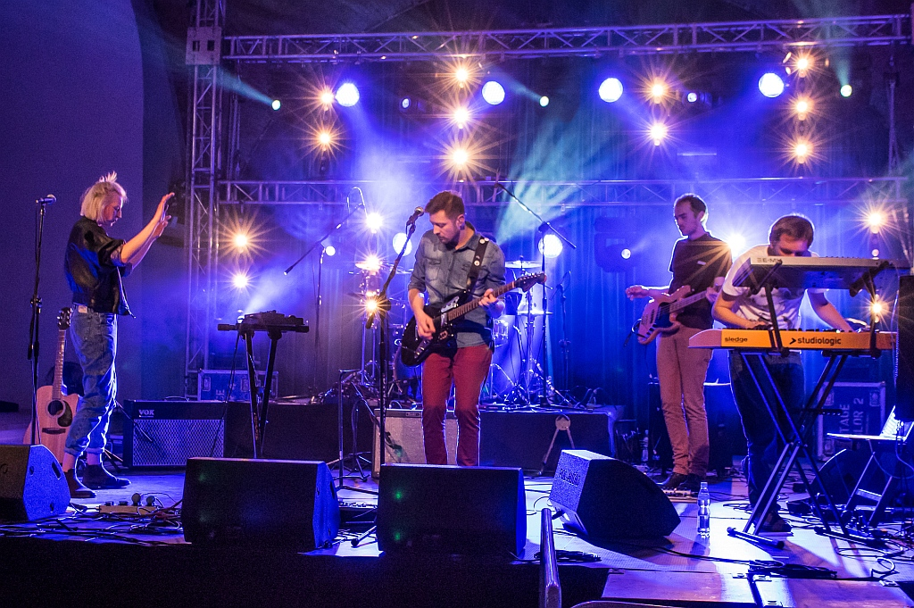 Live 5stancja Warsaw 2015 (photo: Bartosz Skotnicki)