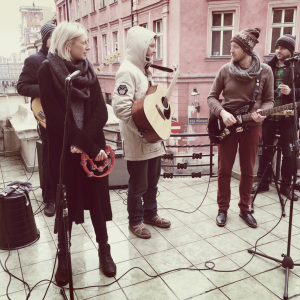 Live for Balcony TV Poznań 2015 (photo: Monika Najmoła)