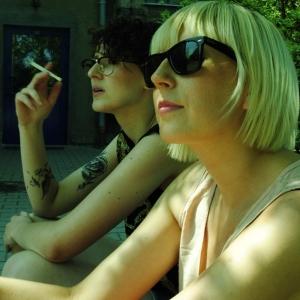"""Making """"Alice from the stars"""" video 2012 (photo: Magda Majsiej)"""